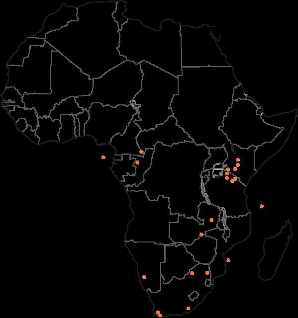 Classic Portfolio Africa Map