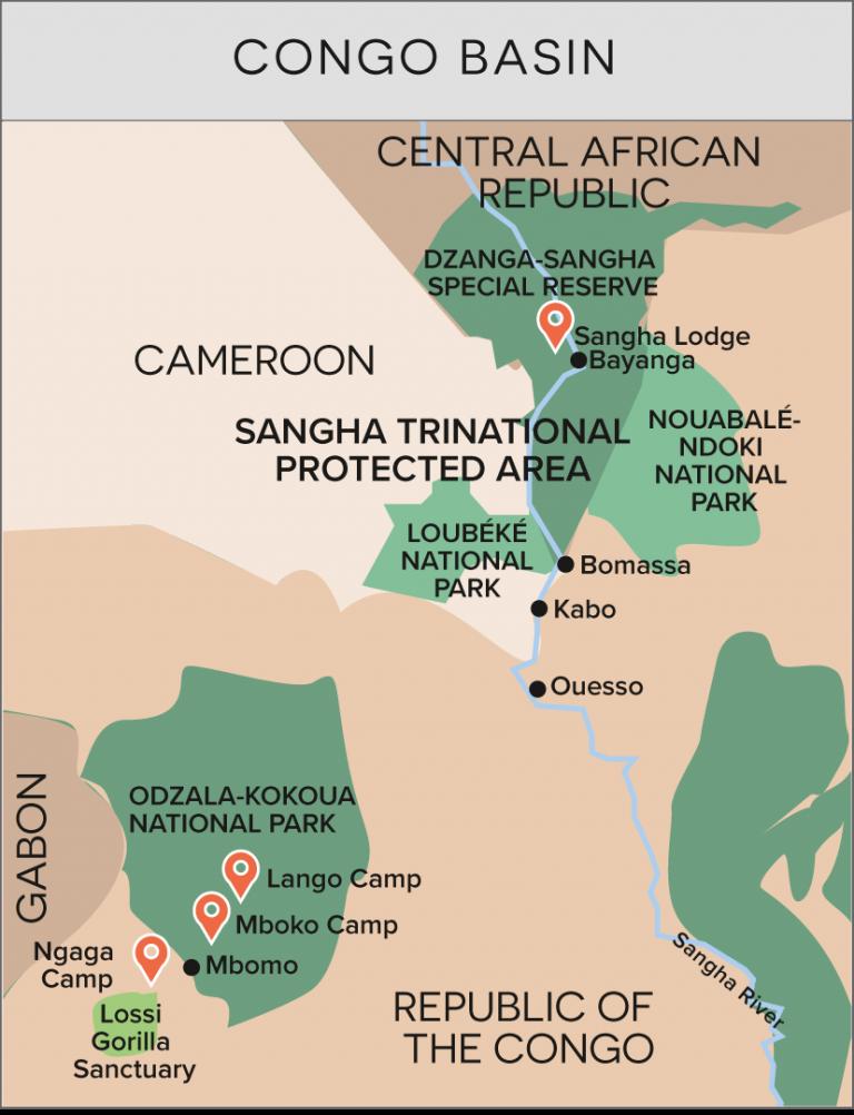 Republic of the Congo & Central Africa Republic